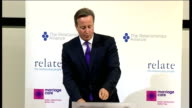 David Cameron speech on family Cameron speech SOT I'm determined to do everything we can to unleash this adoption revolution in our country So that...