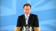 David Cameron speech on immigration David Cameron speech continued SOT Now another example relevant in a university like this is that when we said we...
