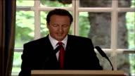 David Cameron speech on Islamic terrorism threat in the UK Why has so little been done to minimise the impact of Imams who come to Britain and preach...