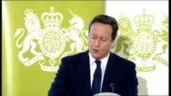 David Cameron speech on public service reform David Cameron speech continued SOT We are injecting competition saying to the private sector community...