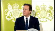 David Cameron speech on public service reform ENGLAND London Royal Society for the encouragement of Arts Manufactures and Commerce INT David Cameron...
