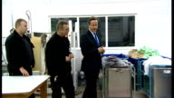 David Cameron speech on punishment and rehabilitation of offenders ENGLAND London Wormwood Scrubs Prison FOCUS 'Wormwood Scrubs' sign with prison...