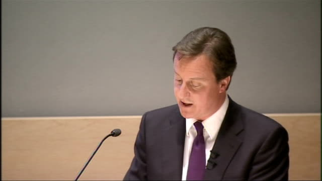 David Cameron speech on reforming quangos David Cameron speech continues SOT The third area where there is likely to be a need for independent action...