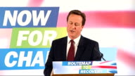 David Cameron speech on the economy David Cameron speech on the economy continued SOT But there are expensive programmes that extend the work of the...