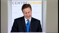 David Cameron speech on the future of higher education funding David Cameron answering questions SOT I say this as an arts graduatethere are benefits...