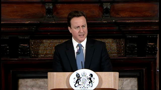 David Cameron speech on Welfare Reform Bill Cameron speech SOT Say for example you're on Jobseeker's allowance and you have the chance to do a few...
