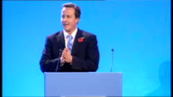 David Cameron speech to Conservative Women's Organisation ENGLAND London PHOTOGRAPHY ** David Cameron MP entering conference hall as members of...
