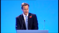 David Cameron speech to Conservative Women's Organisation Cameron speech SOT But the biggest worry for so many people right now is redundancy...