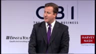 David Cameron speech to the CBI Cameron speech SOT We had an Emergency Budget last summer on our own terms not this summer on the market's terms We...