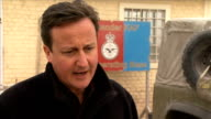David Cameron visits British troops at Kandahar airbase general views and interviews Cameron interview SOT On soldiers facing a pay freeze / doing...