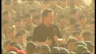general views and speech David Cameron speech continues SOT But there are many other ways in which you deserve our support Making sure the good...