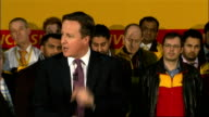 David Cameron visits DHL Express Headquarters Question and Answer Session David Cameron speech SOT Britain has got a big interest in financial...