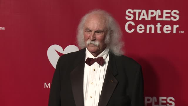 David Crosby at the 2016 MusiCares Person of The Year Honoring Lionel Richie at Los Angeles Convention Center on February 13 2016 in Los Angeles...