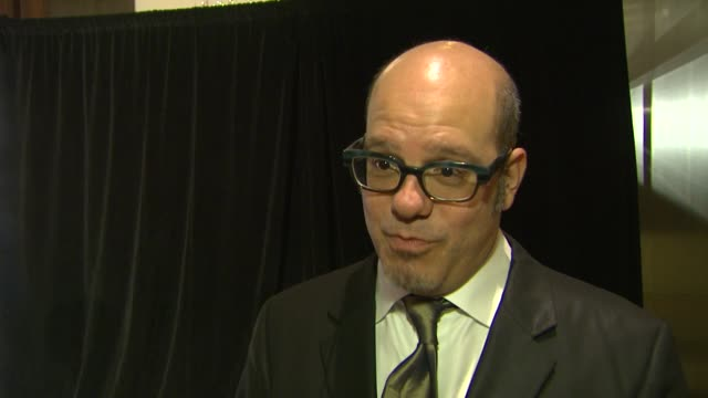 INTERVIEW David Cross on being at the event at the 63rd Annual ACE Eddie Awards at The Beverly Hilton Hotel on February 16 2013 in Beverly Hills...