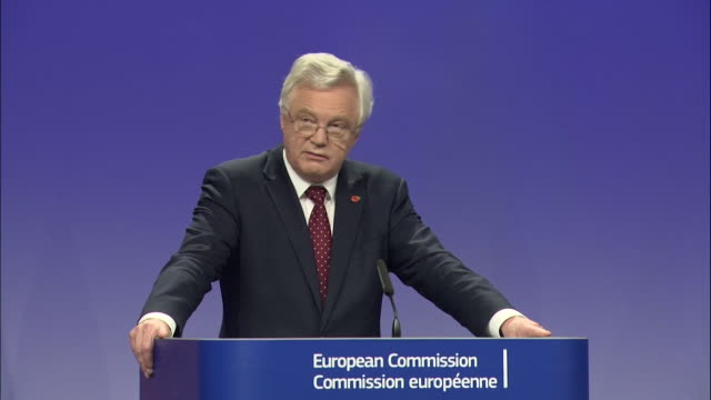 David Davis saying EU partners 'will not have to pay more or receive less as a result of our decision to leave'