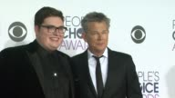 David Foster and Jordan Smith at the People's Choice Awards 2016 at Nokia Plaza LA LIVE on January 6 2016 in Los Angeles California