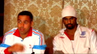 David Haye press conference on his back injury David Haye and Adam Booth press conference continues SOT More on Wladimir Klitschko / want to become...