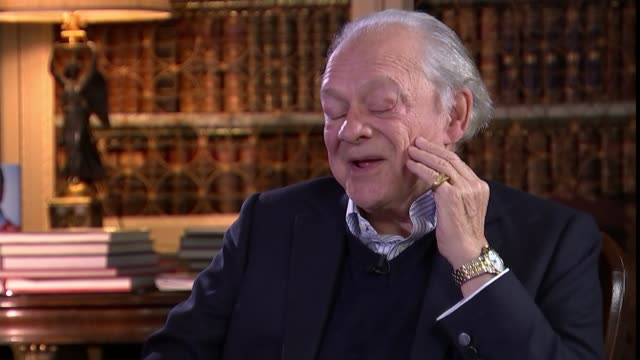 Reporter sitting with actor David Jason Sir David Jason interview SOT When I was an electrician I met this builder who totally fascinated me because...