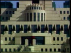 Geoff Hoon will not attend/Prescott defends Hoon ITN MI6 headquarters building