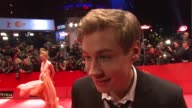 David Kross on how he feels launching the film in Berlin on looking forward to the reaction on the pomp and show of the Berlinale at the 59th Berlin...