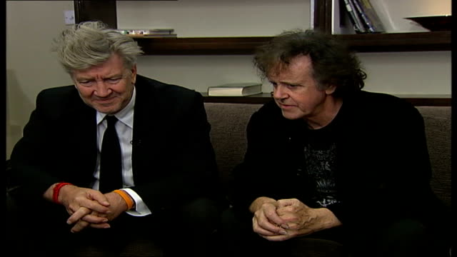 David Lynch and Donovan promote transcendental meditation in new stage show Donovan and Lynch interview SOT