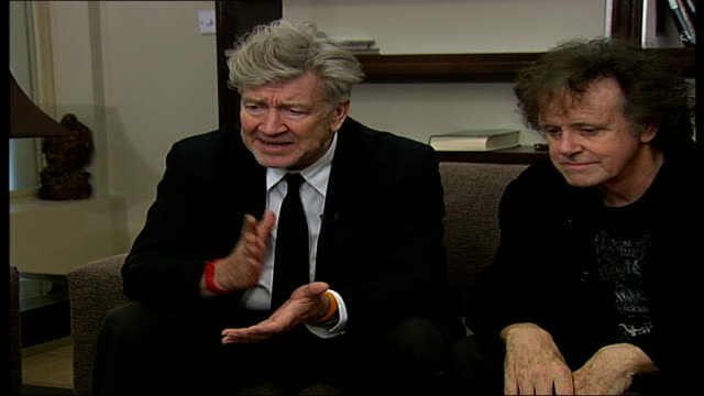 David Lynch and Donovan promote transcendental meditation in new stage show Interviews Donovan and Lynch interview continues SOT