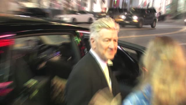 David Lynch at Hard Rock Cafe in Hollywood at the Celebrity Sightings in Los Angeles at Los Angeles CA