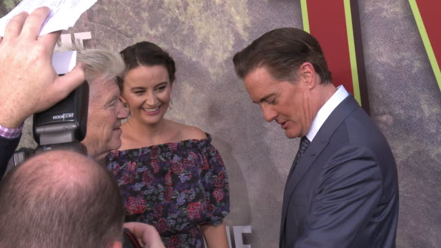 David Lynch Kyle MacLachlan and Emily Stofle at The World Premiere of the new Showtime LimitedEvent Series 'Twin Peaks' at Ace Hotel on May 19 2017...