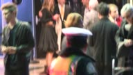 David Lynch meets friends at the El Rey Theatre Celebrity Sightings in Los Angeles on in Los Angeles California
