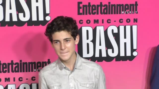 David Mazouz at Entertainment Weekly Hosts Annual ComicCon Celebration at Float at Hard Rock Hotel San Diego on July 23 2016 in San Diego California