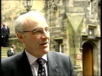 David McLetchie MSP interviewed SOT Tony Blair tried to blame the Scottish Parliament as a whole for the miserable policies of the Scottish executive...