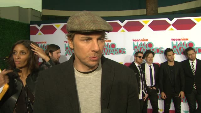 INTERVIEW Dax Shepard on the event at TeenNick HALO Awards in Los Angeles CA