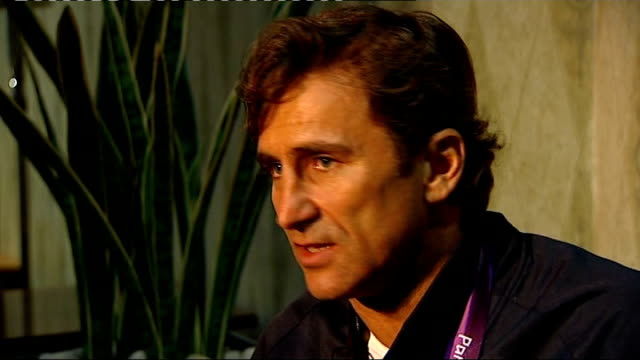 Day 7 Alex Zanardi interview Zanardi interview SOT What his accident taught him about life / whether he thinks about the accident now