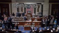 A day after receiving a legislative package from the Senate and 15 minutes of debate the 31690 vote is announced by freshman Congressman Drew...