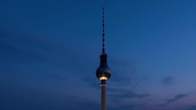 Day to night, Fernsehtrum Tower, Timelapse,TU