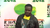 Dayo Okeniyi at Nickelodeon's 25th Annual Kids' Choice Awards on 3/31/2012 in Los Angeles CA