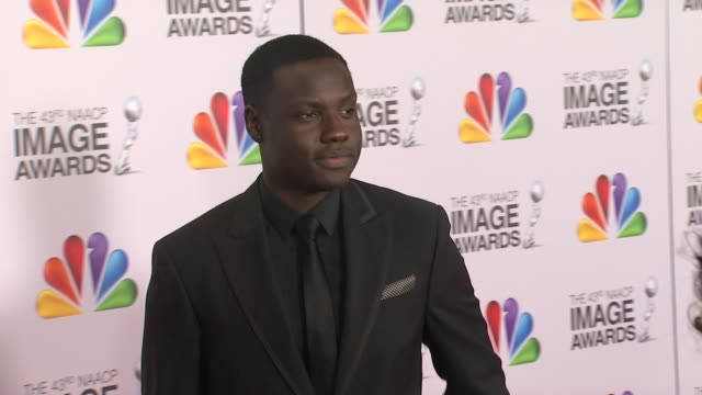 Dayo Okeniyi at The 43rd NAACP Image Awards Arrivals on 2/17/12 in Los Angeles CA