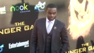 Dayo Okeniyi at The Hunger Games World Premiere on 3/12/2012 in Los Angeles CA