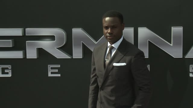 Dayo Okeniyi at the Premiere Of Paramount Pictures' 'Terminator Genisys' at Dolby Theatre on June 28 2015 in Hollywood California