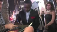 Dayo Okeniyi greets fans at The Vow after party in Hollywood 02/06/12