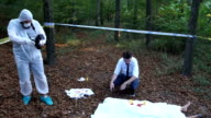 Dead body found in forest