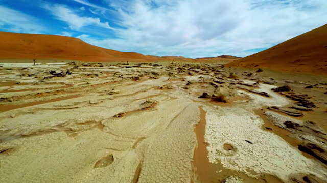 HELI Dead Vlei In The Namib Desert