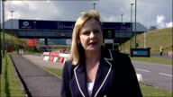 Middlesbrough Teeside Redcar EXT Reporter to camera