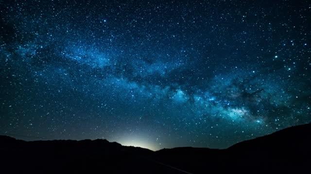 Death Valley Milchstraße Zeitraffer 4 K
