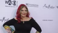 Debbie Ohanian at The Wearable Art Gala at California African American Museum on April 29 2017 in Los Angeles California