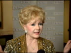 Debbie Reynolds on being the President of the Thalians for 48 years the medical accomplishments the organization has helped achieve Tom Cruise's...