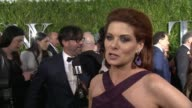 INTERVIEW Debra Messing on the theater being everything and presenting for the first time at 2015 Tony Awards Arrivals at Radio City Music Hall on...
