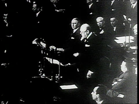 December 26 1941 WS Winston Churchill makes speech before US Congress Washington DC United States