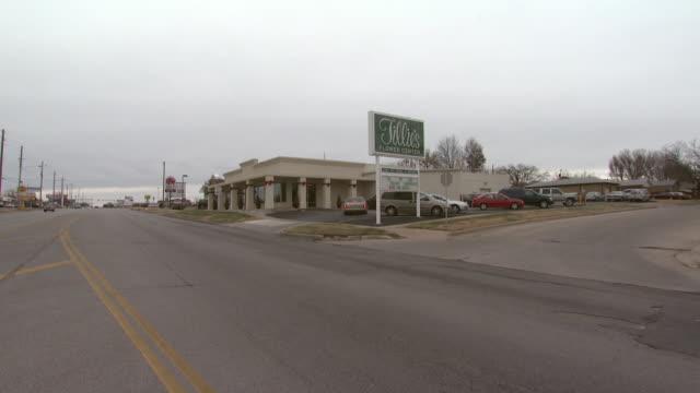 December 3 2008 WS Exterior of Tillie's Flower Shop from across the street / Wichita Kansas United States