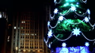 Decorated Christmas Tree in Moscow